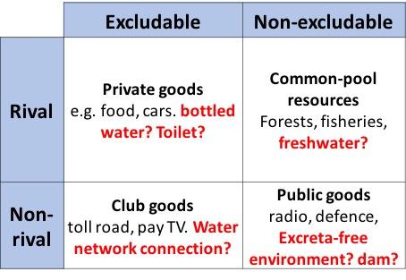 Sanitation as a public good and private asset – WASHeconomics.com